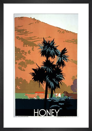 Empire Marketing Board - Honey by Frank Newbould