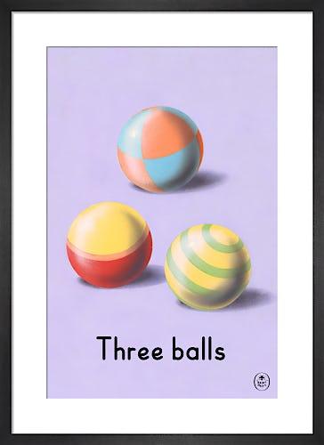 Three balls by Ladybird Books'