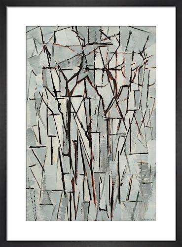 Composition Trees II, c.1912-13 by Piet Mondrian