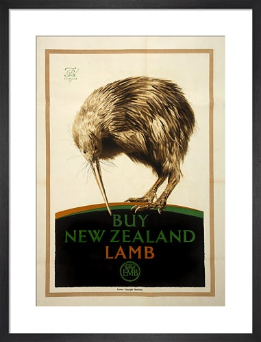 Empire Marketing Board - Buy New Zealand Lamb by F C Herrick
