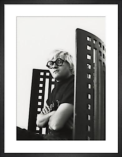 David Hockney, May 1969 by Godfrey Argent