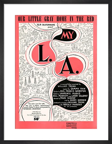 Our Little Gray Home in the Red (My L.A.) from Art Inspired by Music