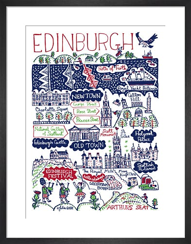 Edinburgh by Julia Gash