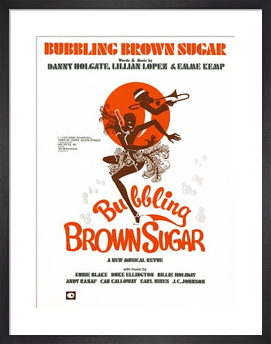 Bubbling Brown Sugar from Art Inspired by Music
