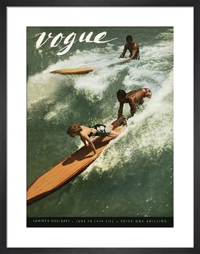 Vogue June 1939 by Toni Frissell