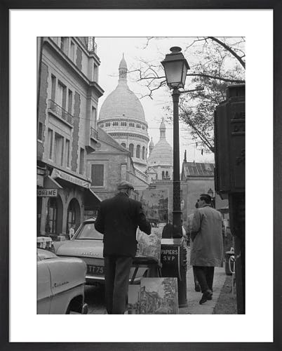 Montmartre Painter, 1963 by Alan Scales