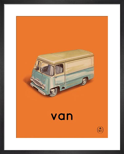 van by Ladybird Books'