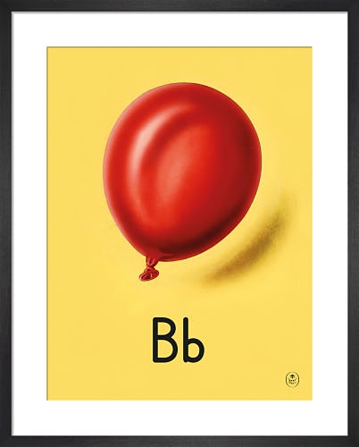 B is for balloon by Ladybird Books'
