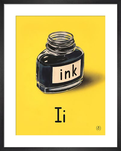 I is for ink by Ladybird Books'