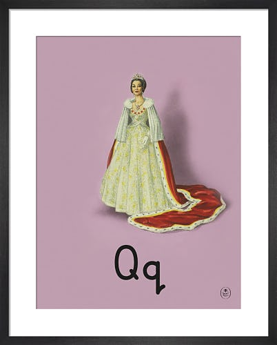 Q is for queen by Ladybird Books'