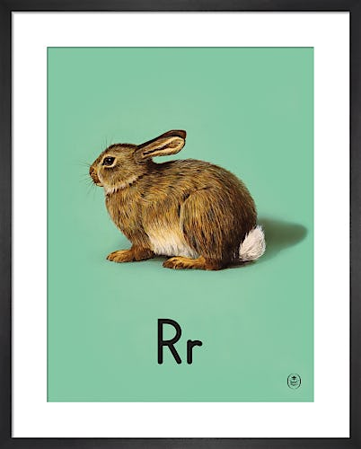 R is for rabbit by Ladybird Books'
