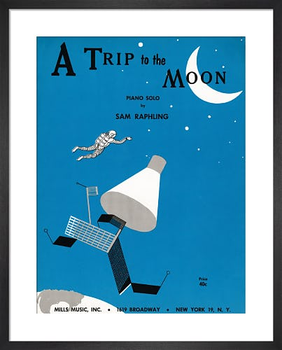 A Trip to the Moon from Art Inspired by Music