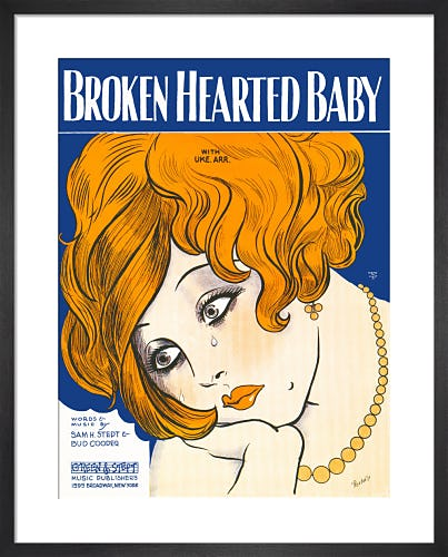 Broken Hearted Baby from Art Inspired by Music