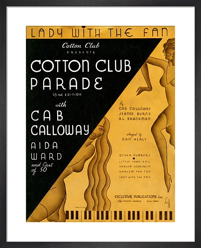 Lady with the Fan (Cotton Club Parade) from Art Inspired by Music