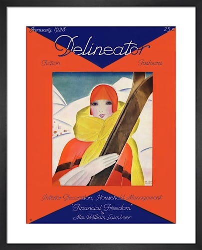 Delineator, January 1928 by Anonymous