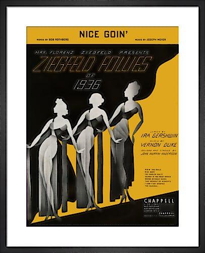 Nice Goin' (Ziegfeld Follies of 1936) from Art Inspired by Music