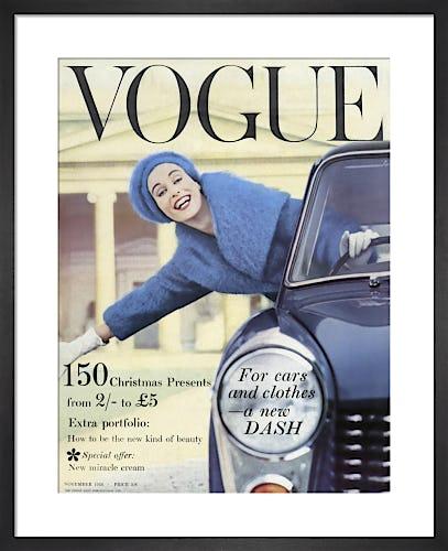 Vogue November 1958 by Antony Armstrong-Jones