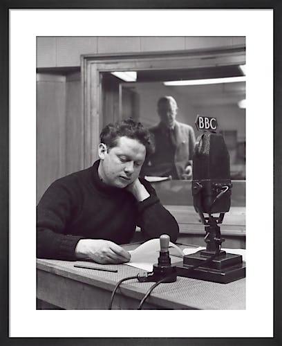 Dylan Thomas, July 1948 by John Gay