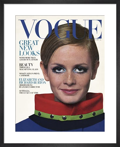 Twiggy, Vogue October 1967 by Ronald Traeger