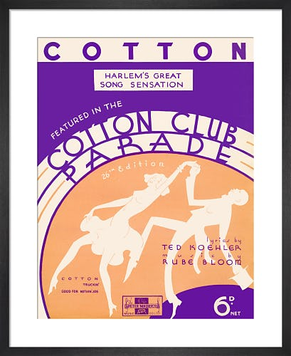Cotton (Cotton Club Parade) from Art Inspired by Music