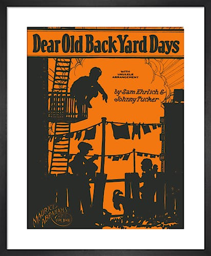 Dear Old Back Yard Days from Art Inspired by Music