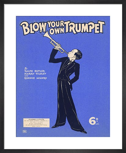 Blow Your Own Trumpet from Art Inspired by Music