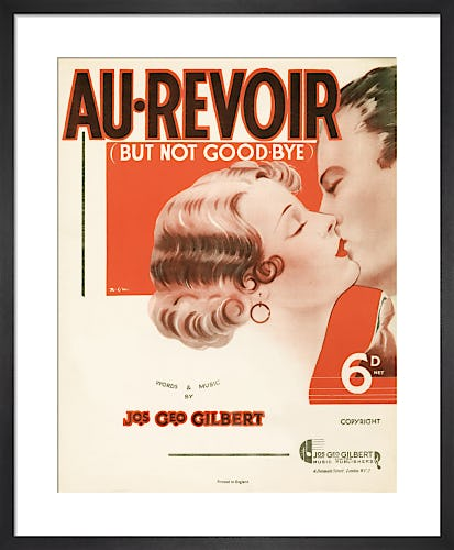 Au-Revoir - but not Good-bye from Art Inspired by Music