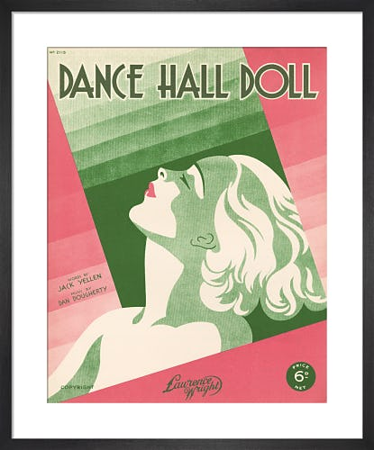 Dance Hall Doll from Art Inspired by Music