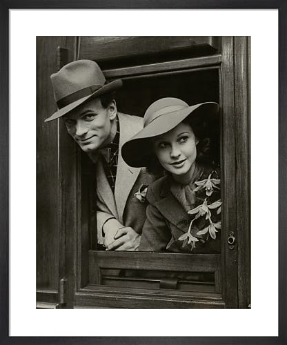 Laurence Olivier and Vivien Leigh, May 1937 from National Portrait Gallery