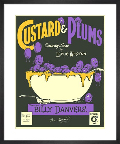 Custard & Plums from Art Inspired by Music