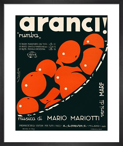 Aranci! from Art Inspired by Music