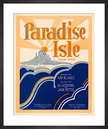 Paradise Isle from Art Inspired by Music