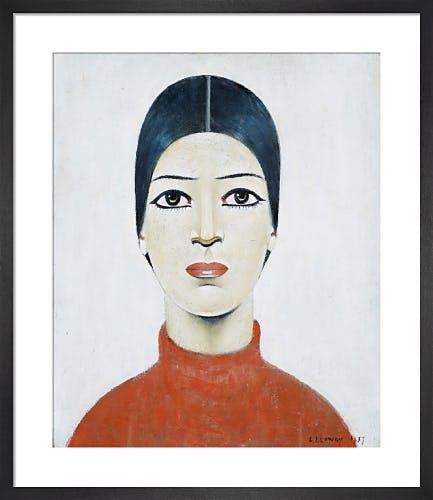 Portrait Of Ann, 1957 by L.S. Lowry