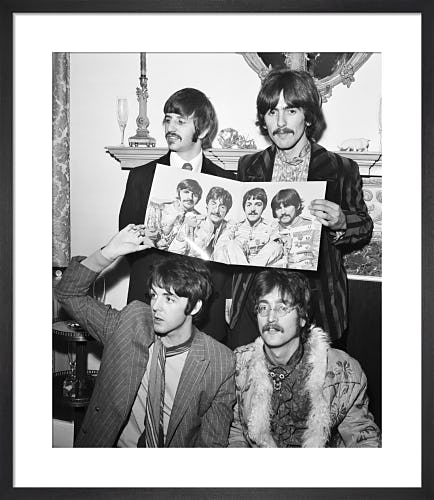 The Beatles, May 1967 by Mirrorpix