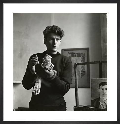 Lucien Freud, Vogue December 1948 by Clifford Coffin