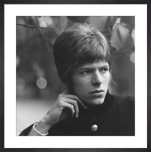 David Bowie, 1966 by David Wedgbury