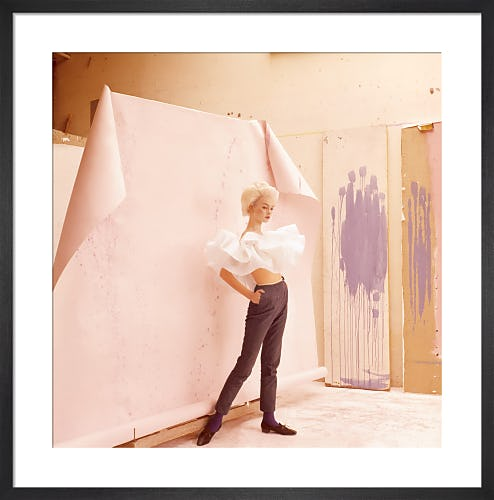 Jean Shrimpton, Vogue June 1964 by Cecil Beaton