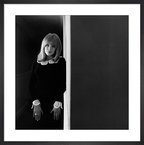 Marianne Faithfull, 1965 by David Wedgbury
