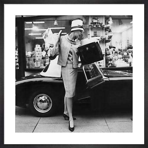 Vogue April 1960 by Claude Virgin