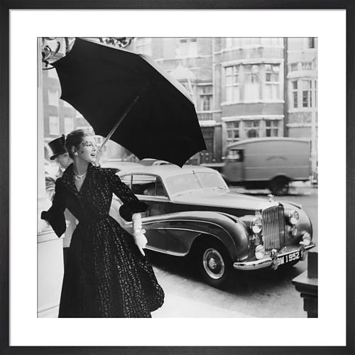 Vogue November 1951 by Robert Randall