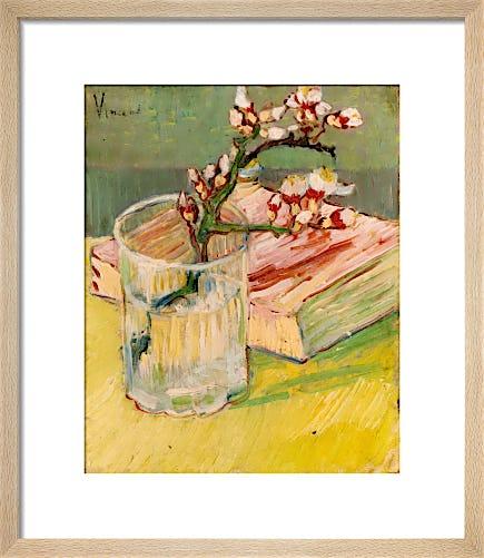 Nature Morte, Branche d'Amandier by Vincent Van Gogh