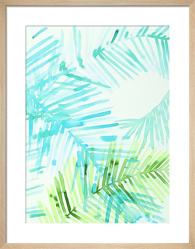 Layered Palm C by Susan Hable