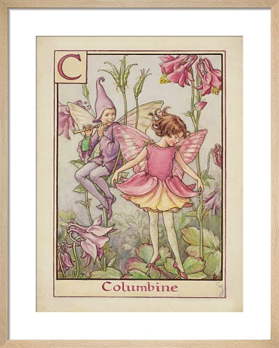 Columbine Fairy by Cicely Mary Barker