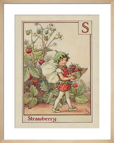 Strawberry Fairy by Cicely Mary Barker