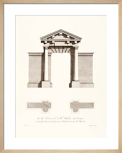 Classical Arches II by Sir William Chambers