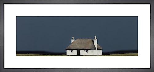 North Uist Cottage by Ron Lawson