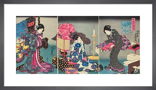 Scenes of daily life by Utagawa Kunisada