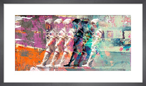 Astronaut Moonwalk by Teis Albers