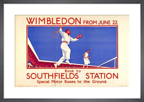 Wimbledon from June 22, 1925 by L B Black