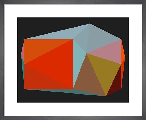 Triangulations No.3 2013 by Henri Boissiere